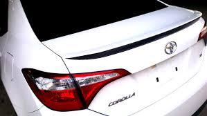 Toyota Corolla S Se Xse 2014 2019 Rear Spoiler Decal Shinegraffix Com