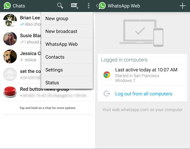 """Image result for whatsapp web"""""""
