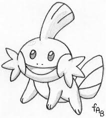 Mudkip Sketch Gt Sneasel Plushie Pokemon Coloring Pages Totodile