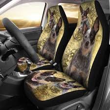 australian cattle dog car seat covers