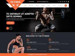vw fitness gym wordpress theme
