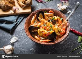 French Fish Soup Bouillabaisse Seafood ...