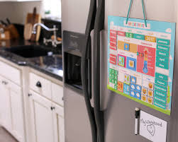 My First Daily Magnetic Calendar Weather Station For Kids Moods And Emotions Usable On Wall Or Fridge Walmart Com Walmart Com