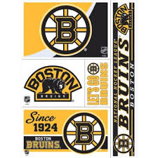 Boston Bruins Decal 5 1 2in X 4 1 4in Party City