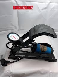 Bơm Hơi Đạp Chân Đa Năng Mini Cho Ô Tô xe máy STANLAYS 1 ống, giá tốt nhất  175,000đ! Mua nhanh tay!