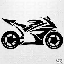 Motorcycle Decal Sports Bike Decal Tribal Motorcycle Decals Motorcycle Decals Art Logo Laptop Decal