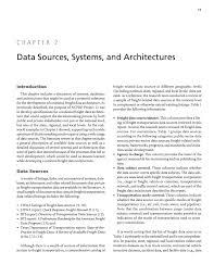 chapter 2 data sources systems and