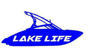 Lake Life Decal Sticker Fishing Boat Boating Power Ski Wake Window Auto Car Ebay