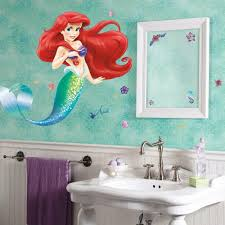 The Little Mermaid Giant Wall Decal Roommates Decor