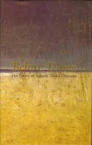 before dawn the poetry of sapardi djoko damono by sapardi djoko