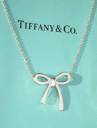 tiffany co bow ribbon sterling silver