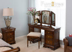 wood antique wooden dressing table
