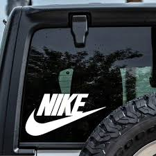 Nike Logo Car Decal Sticker Decalfly