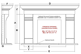 ashfield classic stone fireplace mantel