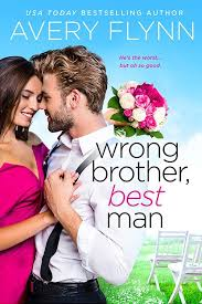 Cover Reveal Wrong Brother, Best Man by Avery Flynn - www.myreviewstoday.com