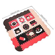 Outcamer Baby Play Mat With Fence Foam Buy Online In Malta At Desertcart
