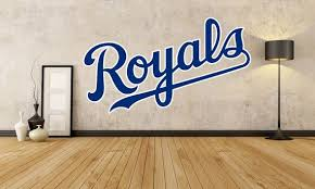 Kansas City Royals Fathead Style Wall Decal Mariners Giants Dodgers Rockies Twins Cubs Cardinals Rangers Braves Yankees R Wall Decals Kansas City Royals Royal