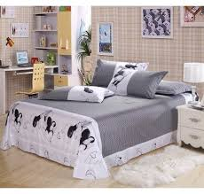 white mickey and minnie mouse bedding