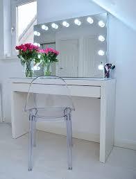 ikea malm makeup vanity with mirror