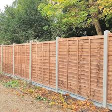Clarkes Overlap Fence Panel 6ft X 6ft Cheap Fence Panels