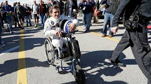 Zanardi defies disability to inspire racing's biggest stars ...