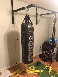 Pull up bar punching bag - Stud Bar - Ceiling or Wall Mounted Pull-up Bar