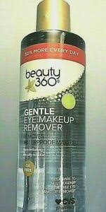 360 oil free gentle eye makeup remover