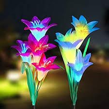 tvird outdoor solar garden stake lights