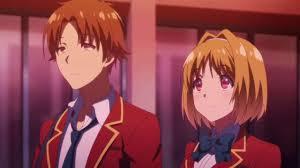 """kesan kesan menonton anime """"youkoso jitsuryoku shijou shugi no"""