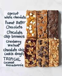 6 homemade granola energy bars recipes