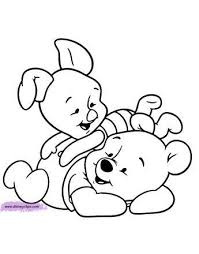 Baby Pooh Printable Coloring Pages Disney Coloring Book Baby