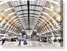 Paddington Station London Art Canvas Print Canvas Art By David Pyatt