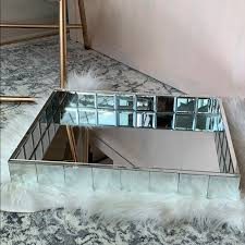 accents home goods mirrored tray