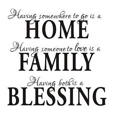 llq wall stickers blessing quotes home decor decals phrase