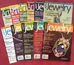 art jewelry magazine lot of 11 issues