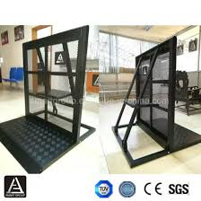 China Lower Price Event Fence Aluminum Barricade Used Crowd Control Barriers For Sale China Mojo Stage Barrier Concrete Crash Barrier