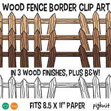 Fence Border Worksheets Teaching Resources Teachers Pay Teachers