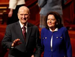 Russell M and Wendy Nelson April 2019 LDS General Conference ...