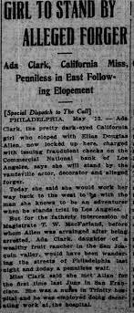 Ada Clark 1912 - Newspapers.com