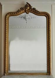 louis xv style overmantel mirror