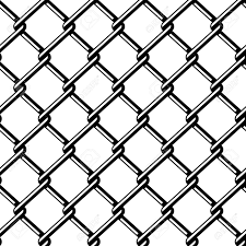 Vector Wire Fence Seamless Black Silhouette Royalty Free Cliparts Vectors And Stock Illustration Image 13540305
