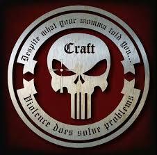 Craft Logo Chris Kyle Punisher American Sniper