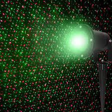 garden landscape lighting laser light