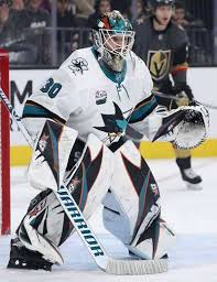 San Jose Sharks goaltending history : Aaron Dell