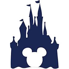 Amazon Com Best Design Amazing Decals Floating Disney Fairy Castle Wall Sticker Vinyl Decal Wall Art For Nurseries Made In Usa Kitchen Dining