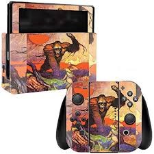 Mightyskins Skin Compatible With Nintendo Switch Giant Gorilla Protective Durable And Unique Vinyl Decal Wrap Cover Easy To Apply Remove And Change Styles Made In The Usa Home Sports Fitness
