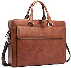 cluci women leather briefcases slim