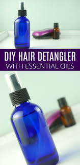 diy homemade hair detangler recipe