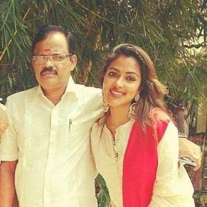 """Image result for amala paul father"""""""