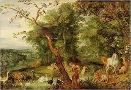 two gardens eden and gethsemane